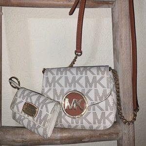 Micheal Kors crossbody & wallet